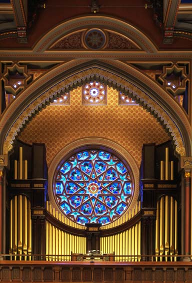 Organ Loft Central Synagogue NYC