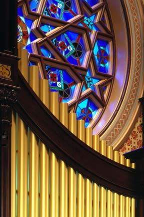 Organ Pipes Central Synagogue NYC