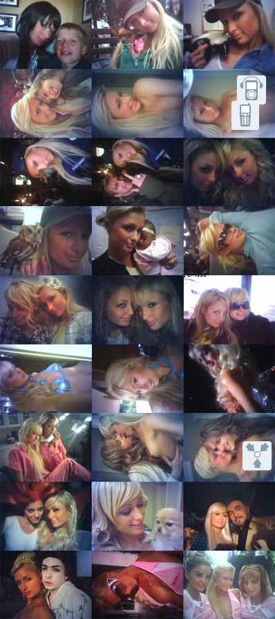 Paris Hilton's Sidekick Photos