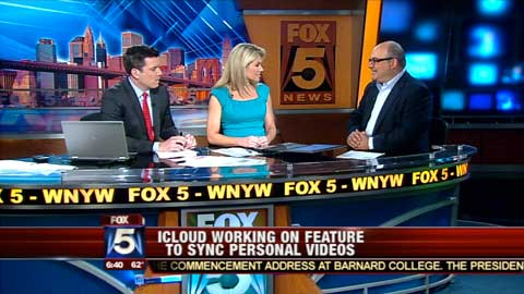 Shelly Palmer chats with Fox 5's Steve Lacy & Heather Nauert