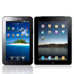 Galaxy Tab & iPad