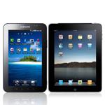 Galaxy Tab & iPad