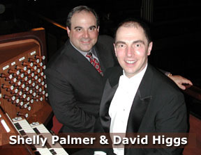 Shelly Palmer and David Higgs