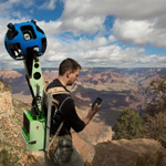 Google's Trekker at the Grand Canyon