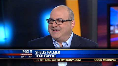 Shelly Palmer Talks About Bigger iPhone Screens on Fox 5