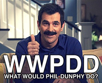 Phil Dunphy from Modern Family.