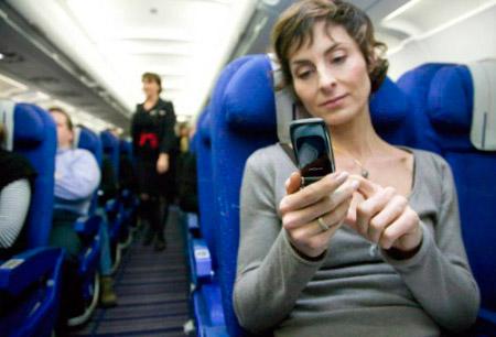 Using Phones on Planes