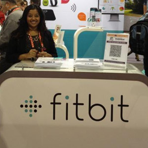 Fitbit With Self-Guided Tour Sign