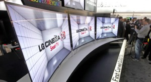 LG Curved-Screen TVs