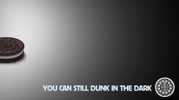 Oreo's Super Bowl Ad