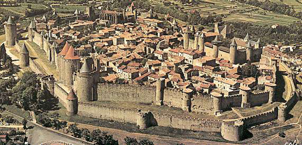 The Walled City of Carcassonne