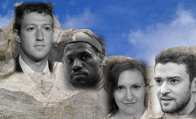Millennial Mount Rushmore