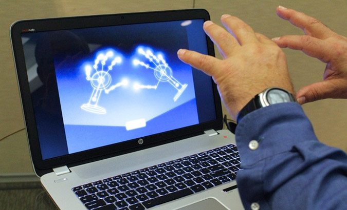 HP ENVY17 with Leap Motion technology