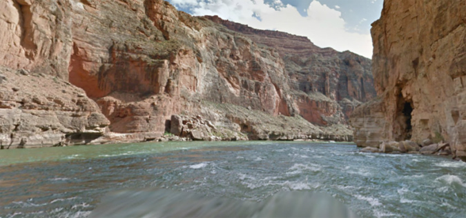 Colorado River on Google Street View