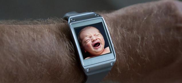 Galaxy S5 Baby Monitor