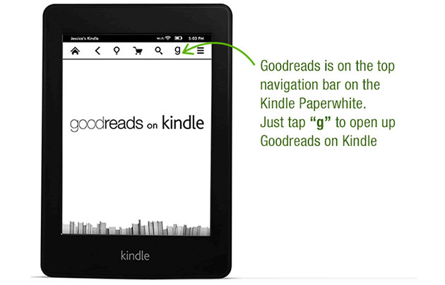 Goodreads on Kindle Paperwhite