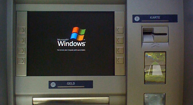 Windows XP on ATM