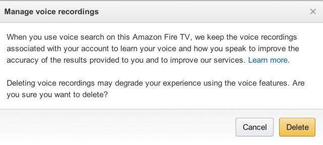 Amazon Fire TV Recordings