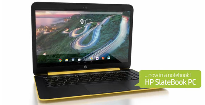 Android-Powered HP Laptop