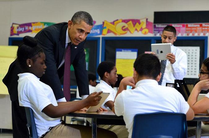 Barack Obama for ConnectED