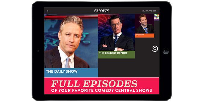Comedy Central iOS App
