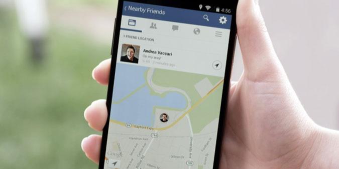 Facebook's 'Nearby Friends'