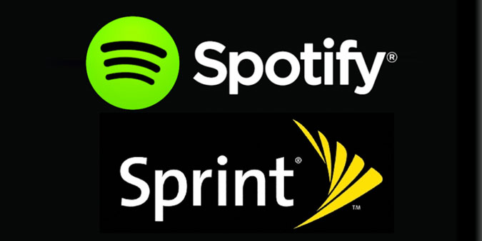 Spotify and Sprint