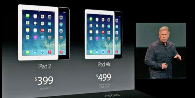 iPad 2 vs iPad Air
