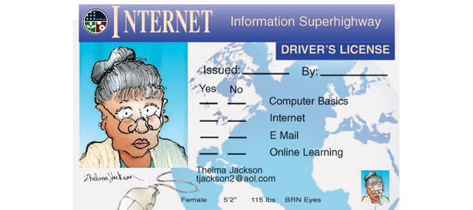 Driver's License for the Internet