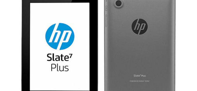 HP's Launches $99 '7 Plus' Android Tablet
