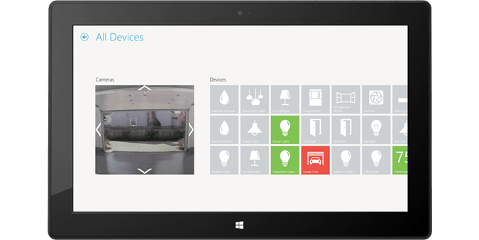 Insteon on Windows Tablet