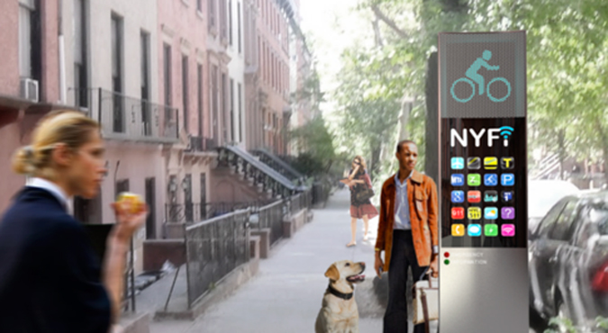 NYC WiFi Payphone Hotspots