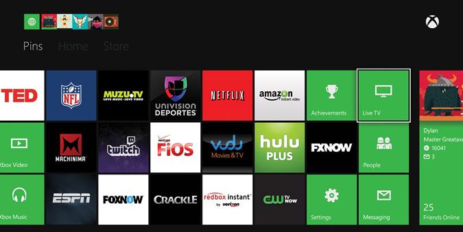 Xbox One Media Apps
