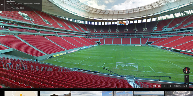 2014 World Cup Street View
