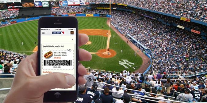 iBeacon and MLB