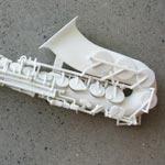3D-Printed Saxophone