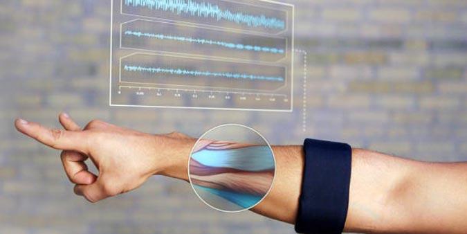 Myo Gesture Controlled Armband