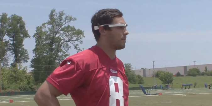 Sam Bradford in Google Glass