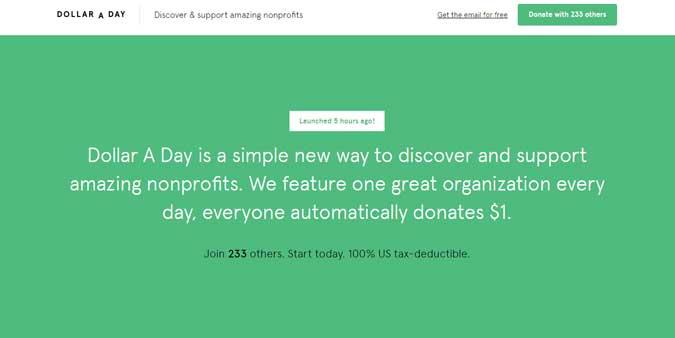 Dollar a Day