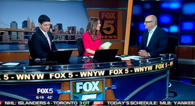 Shelly Palmer Talks About The Apple Watch on Fox 5 - Shelly