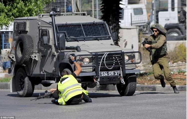 Reuters - Stabbing in Israel