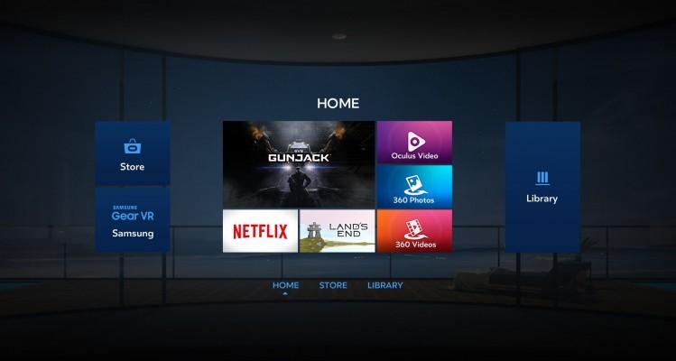 Samsung VR App Store