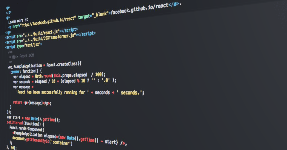 react.js screenshot