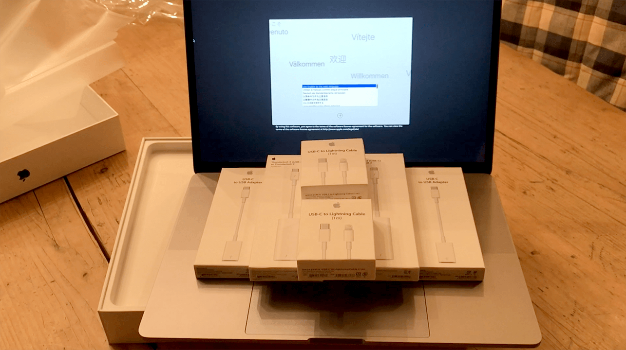 MacBook Pro and Dongles