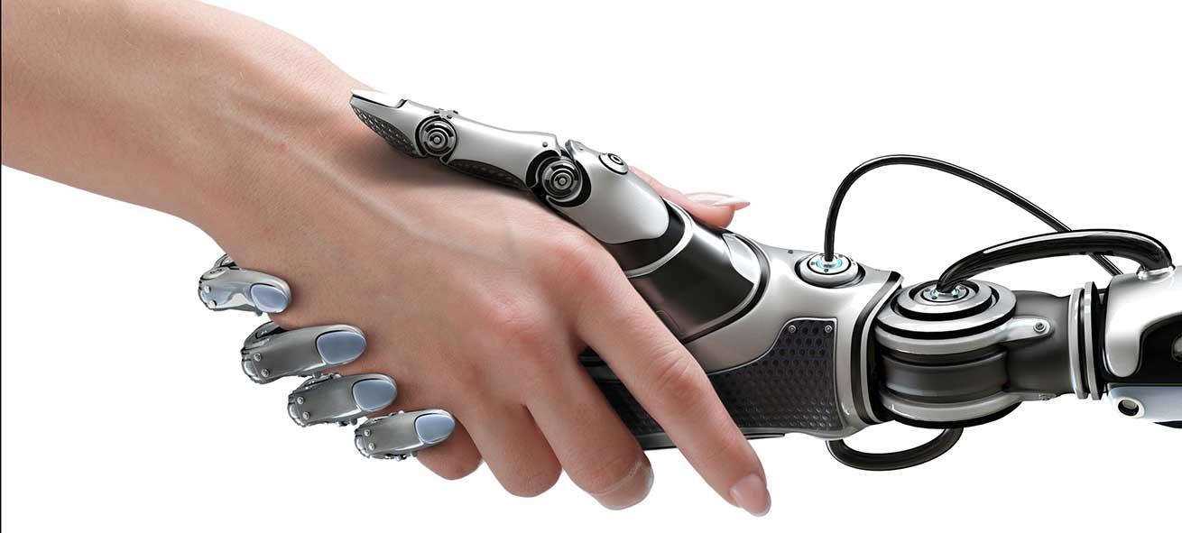 Man/Machine Handshake