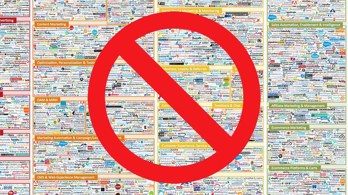 Don't Buy Tech