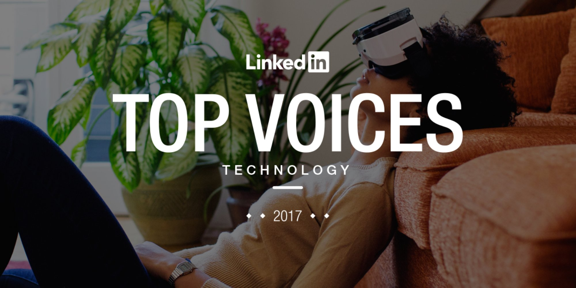 LinkedIn Top Voices in Technology 2017