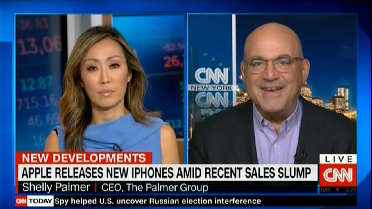 Shelly Palmer on CNN