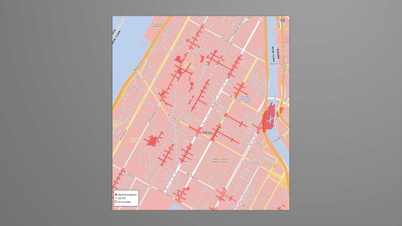 Verizon 5G Coverage NYC