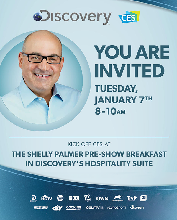Discovery Shelly Palmer Pre-Show Breakfast at CES 2020